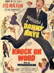 Knock on Wood 1954 DVD - Danny Kaye / Mai Zetterling